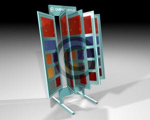 Carpet display stand